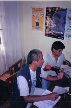 Con Henry Lovera en Radio La Achirana.