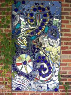 Mosaic piece by bjerk919, via Flickr