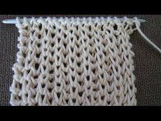 Knitting Tutorial - Fisherman's Rib in the Round Knitting Stiches, Knitting Videos, Fishermans Rib, Stitch Patterns, Knitting Patterns, Merino Wool Blanket, Knit Crochet, Youtube, Sewing