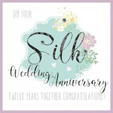 Pin By Akiss Mae On 12 Years Silk Wedding Anniversary 12th Anniversary Wedding Anniversary Parents Anniversary