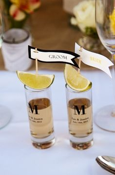 Spanish Wedding Inspiration | Forget the champagne, toast the couple with Tequila Shots !