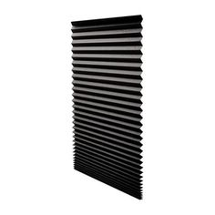 Redi Shade Black Blackout Pleated Shade - $5.50 - LOWES- 36-in W x 72-in L
