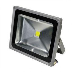Motion Sensor Outdoor 3-Light High Performance LED Floodlight in White