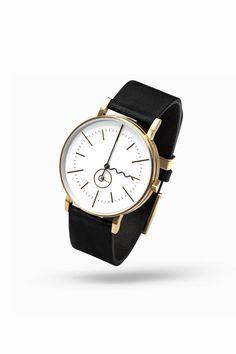 Aark Tide Watch in Gold | From Clockwize.uk