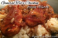Vegan General Tso's Chicken!