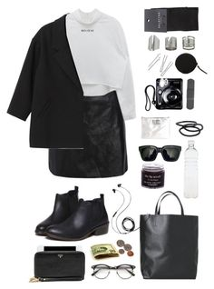 """Style#1133"" by mussedechocolate ❤ liked on Polyvore featuring Angela & Roi, Molami, Monki, Cheap Monday, Topshop, Seletti, NLY Accessories, Goody, SELECTED and Troubadour"