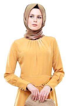 Betül Selvi Elbise-Hardal BS1002-55