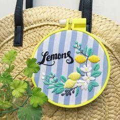 annas/アンナスさんはInstagramを利用しています:「数日前から作っていたものが仕上がりました。 「レモンとオリーブの刺繍枠」 〜Lemons & Olives Embroidery〜 ・ 今の気分で、こんなの作りたいなー。って言うノリ作っています。 教室に来た方は図案あります。…」