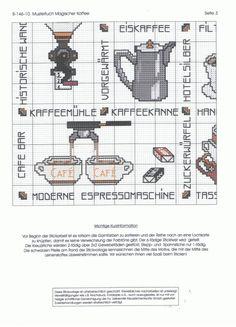 Gallery.ru / Фото #5 - B-146-10 Mustertuch Magischer Kaffee - Ulrike