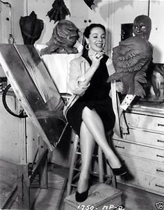 Millicent Patrick, designer of the Creature from the Black Lagoon