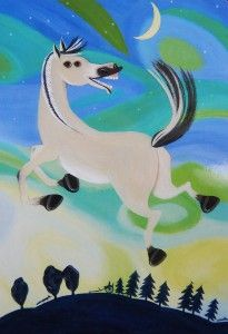 """Norwegian horse, from baby's singing and playing cards, """"Musikk ved livets begynnelse"""" Baby Singing, Snowman, Disney Characters, Fictional Characters, Playing Cards, Horses, Illustrations, Art, Art Background"""