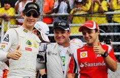 Bruno Senna | Rubens Barrichello | Felipe Massa