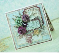 romantic card design