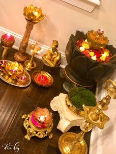 Amazing DIYs for diwali Ethnic Home Decor, Natural Home Decor, Indian Home Decor, Diy Diwali Decorations, Festival Decorations, Flower Decorations, Diwali Party, Diwali Diya, Diwali Inspiration