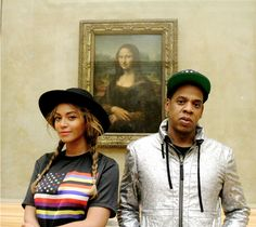 Beyoncé and Jay-Z take over the Louvre