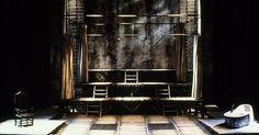 Marat/Sade. Conserva - Marat/Sade. Conservatory of Music University of Cincinnati. Scenic design by Paul Shortt. --- #Theaterkompass #Theater #Theatre #Schauspiel #Tanztheater #Ballett #Oper #Musiktheater #Bühnenbau #Bühnenbild #Scénographie #Bühne #Stage #Set