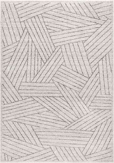 TallahasseeOverlapping Striped Bands Rug