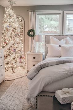 christmas decor ideas house of five master bedroom
