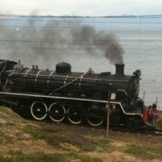 Steam train, False Bay Train Car, Train Travel, Old Steam Train, Choo Choo Train, Train Engines, Steam Locomotive, Big And Beautiful, Cape Town, Motorbikes