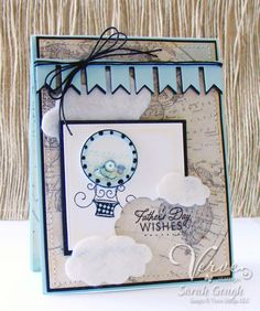 Father's Day Shaker Card by Sarah.Jane - Cards and Paper Crafts at Splitcoaststampers