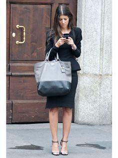 Milan Fashion Week Street Style Spring 2013 - + the bag