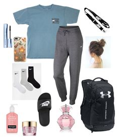 Designer Clothes, Shoes & Bags for Women Cute Lazy Outfits, Casual School Outfits, Teenage Girl Outfits, Sporty Outfits, Athletic Outfits, Teen Fashion Outfits, Retro Outfits, Simple Outfits, Outfits For Teens