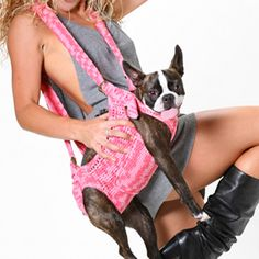 Carriers - The Puppoose Dog Sling Carrier D.O.G Pet Boutique-haha!