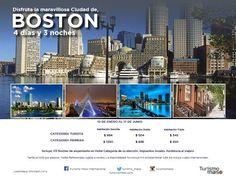 Un viaje de Mil Millas comienza por el primer paso! travel without limits! Asesor de Viajes VOLANDO:    BOSTON GETAWAY PACKAGES - ESCAPADITA EN BOSTON...
