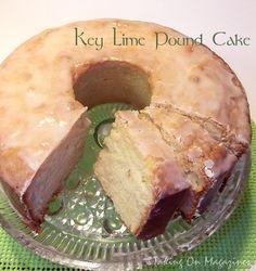 skinny fiber key lime pound cake