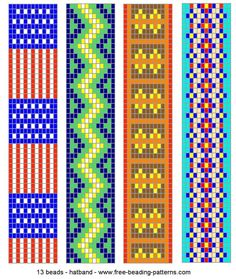 loom beading bracelet patterns