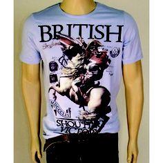 Camiseta British - Gola Careca - Chassi & Co.