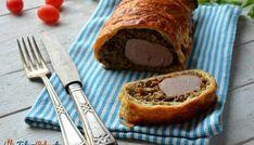 Polędwiczka z pieczarkami w cieście francuskim French Toast, Breakfast, Party, Food, Morning Coffee, Essen, Parties, Meals, Yemek