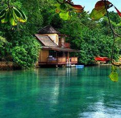 Goldeneye Resort in Jamaica, where Ian Fleming penned his 007 novels.