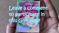 GIVEAWAY: 2 ACEO cards by Ayala Art