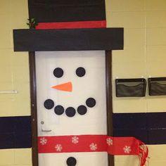 School door decorations for winter bulletin boards ideas Christmas Classroom Door, Christmas Door Decorations, School Decorations, Classroom Decor, Kids Crafts, Snowman Door, School Doors, Door Displays, Theme Noel