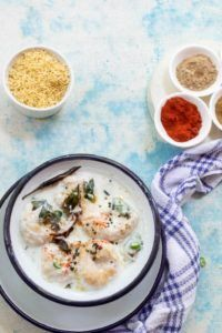 Easy Dahi Vada Recipe  Dahi vada is an Indian dish which is adored by everyone. It's popularity can be judged by years of its existence on menus of hotels and in the kitchen.This delicious cold appetizer is prepared by soaking black gram lentil dumplings in a spicy yogurt mixture and served with some spices like roasted cumin powder, red chili powder, and chaat masala. And it […]  The post  Easy Dahi Vada Recipe  appeared first on  Glossypolish .  https://www.glossypolish.com/easy..