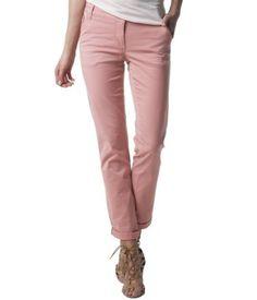 Pantalon chino vieux rose - Promod