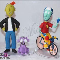 #RogerKlotz #Fedido e #Skeeter #Dougfunie [ #doug #Animação ] Pedido: Marcelo Robocop  #artistic #figures #Arte #biscuit #estatue #porcelanafria  by; KahMichaelis #arts #animes Facebook https://www.facebook.com/KahMichaelisArtesAnimes