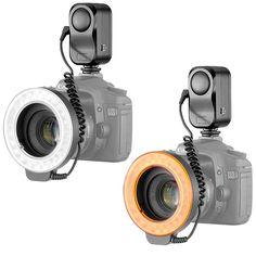 Bestlight® 48 LED Macro Ring Light With 6 Adaptors Rings (Fits 49mm, 52mm, 55mm, 58mm, 62mm or 67mm Lenses)