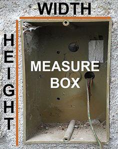 Measure Intercom Box Dimensions