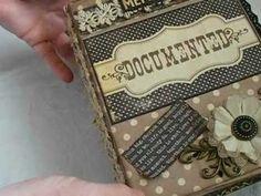 Documented Chipboard Mini Album