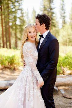 Beautiful long sleeve wedding dresses 22