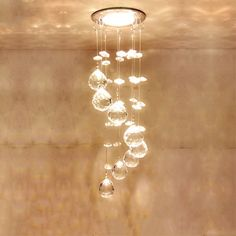 Fumat Modern Ceiling Light K9 Crystal Ball Lustre Mount Hallway Lighting Fixture Led Plafondlamp Luminaria Pendant Ceiling Lamp Comfortable And Easy To Wear Ceiling Lights & Fans Lights & Lighting
