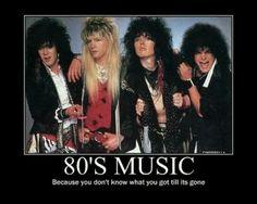 80s music quote #muzikool , visit Muzikool.com and select 80s in the decade selector! Get Set Go!