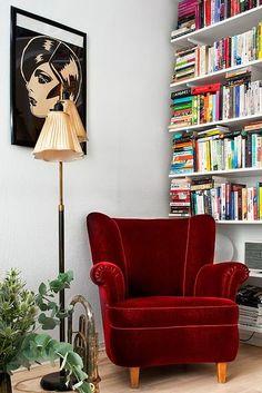 Inspiración de fin de semana: Un sillón y una lámpara | Etxekodeco