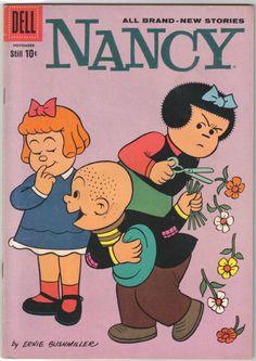 Nancy Comic Book 172 Dell Publishing 1959 Very Fine   eBay