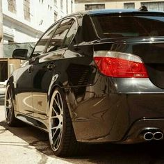 BMW E60 5 series black