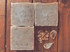 Sandalwood and Palo santo have ages and ages of healing in their past. Their powers are limitless. This wooded bar is perfect for grounding, building connections, and halting the aging process. Palo Santo Essential Oil, Sandalwood Essential Oil, Essential Oils, Aloe Vera Vitamin, Vitamin E, Gotu Kola, Natural Soaps, Organic Soap, Aging Process