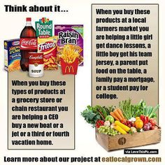 Think About This When Buying Food food fact facts did you know