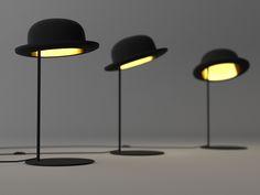 Candeeiro de mesa de alumínio com luz direta JEEVES Coleção Jeeves and Wooster by Innermost | design Jake Phipps